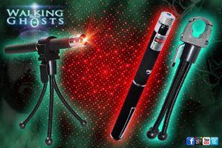 Red Laser Grid Pen & Tripod Holder Ghost Hunt Paranormal Investigation Tool/UK